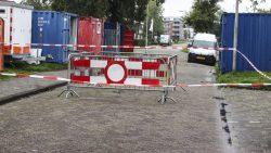 Passanten ontdekken sinkhole midden in de straat