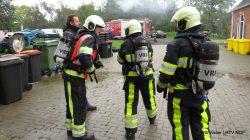 Brandweeroefening in Noardeast-Fryslân