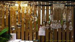 Nieuwste kersttrend, dit jaar zijn dat de touwen met alle vormen van verlichting