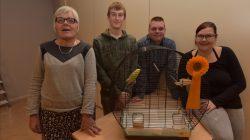 Bijzondere kampioen bij vogelshow Zang en Kleur