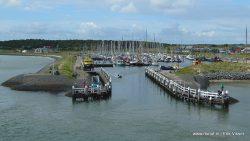 Jachthavens dicht op de Waddeneilanden