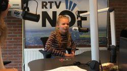 Marije Adema de nieuwe kinderburgemeester van Noardeast-Fryslân