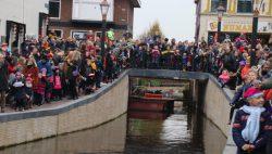 Veel belangstelling bij feestelijke Sinterklaas intocht Kollum
