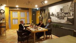 Aldwâld in contact met Jouke Douwe de Vries