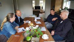 Westergeest maakt kennis met contactwethouder Jouke Douwe de Vries