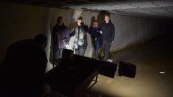 Door de diepe tunnels van Ternaard. Meer info en foto's op www.rtvnof.nl