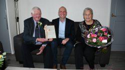 Echtpaar Joustra uit Dokkum 60 jaar getrouwd