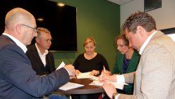 Ondertekening overeenkomst prestatieafspraken