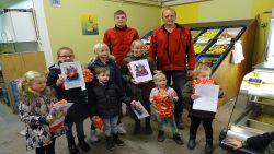 Winnaars kleurplatenwedstrijd De Fruitschuur in Stroobos-Gerkesklooster