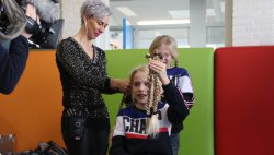 Vier jaar gespaard voor stichting Haarwensen
