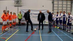 Opening FVVK toernooi in de van der Bij Hal te Kollum