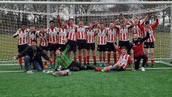 Friese Boys JO17-1 uit Kollumerzwaag kampioen