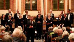 Koormuziek van vocal ensemble A Capelli in de Maartenskerk in Kollum