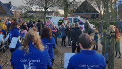 Politie bekeurd Sinterklaas