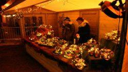 Gezellige sfeer op de kerstmarkt