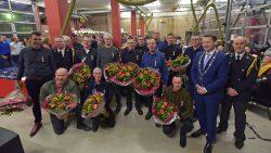 Twaalf brandweerlieden krijgen een Koninklijke onderscheiding