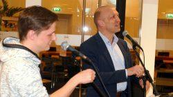 Wethouder de Vries geeft aftrap voorbereidingen Prokkelweek