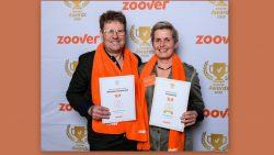 Wietse en Dukkie Schotanus met hun behaalde prijzen
