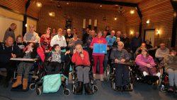 Blide Sjongers doneren geld voor  het goede doel: MERCY SHIPS