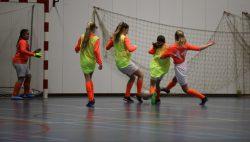 FVVK toernooi voor meisjes in de van der Bij Hal