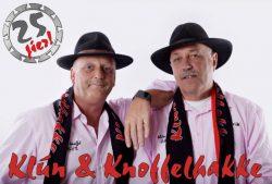 Klún en Knoffelhakke 25 jier op'e planken