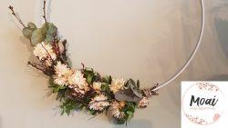 Paasworkshop - droogbloemenkrans maken