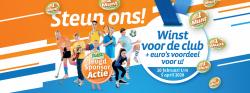 GVV Feanwâlden vraagt iedereen: spaar Jeugd Sponsor Munten voor onze club