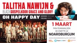 Thalita Nawijn en black gospelkoor Grace and Glory