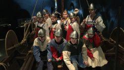Groep 6 van De Wynroas als Vikingen