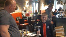 kampioen Frysk Damjen begjinners Wytse Breeuwsma