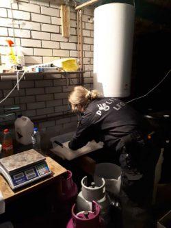 Drugslab met straatwaarde van vier miljoen aangetroffen in Wanswert