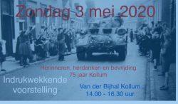 Herinneren, herdenken en bevrijding 75 jaar Kollum