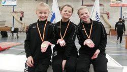 2x goud 1x zilver en 1x brons voor SV DAMWOUDE