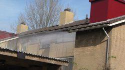 Brand in appartementencomplex in Kollum