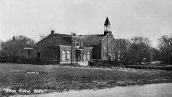 De Gereformeerde kerk in Wons